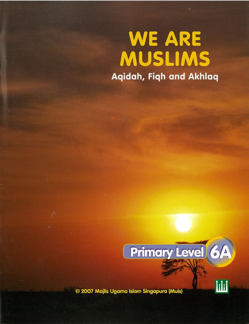 We Are Muslim Textbook  6A