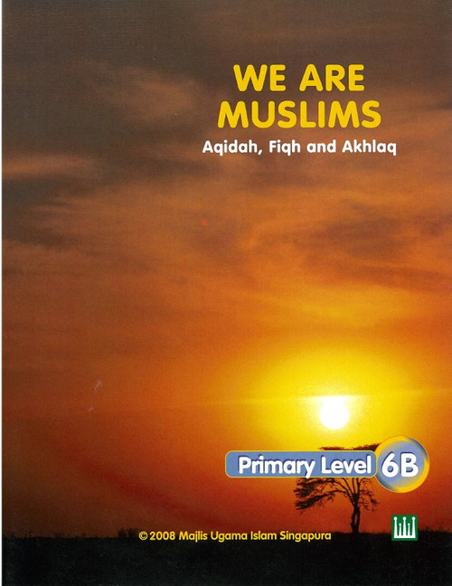 We Are Muslim Textbook  6B