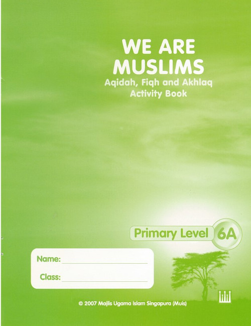 We Are Muslim Workbook  6A
