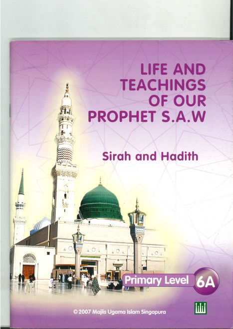Life & Teaching of our Prophet Textbook  6A