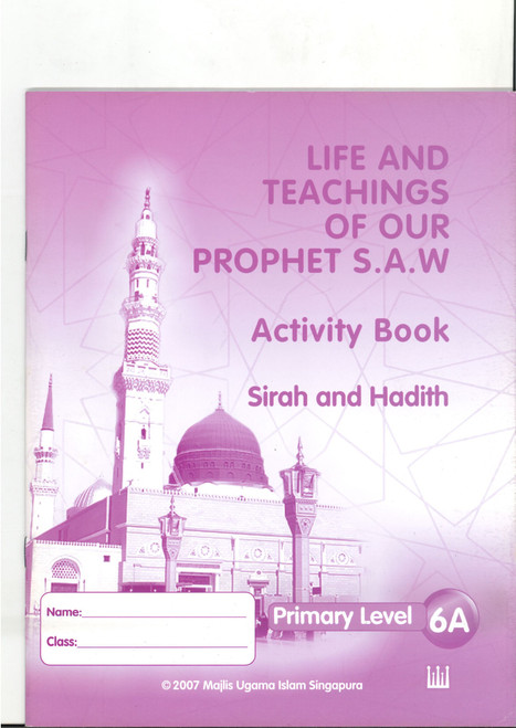 Life & Teaching of our Prophet Workbook  6A