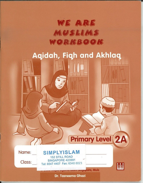 We Are Muslim Workbook 2A