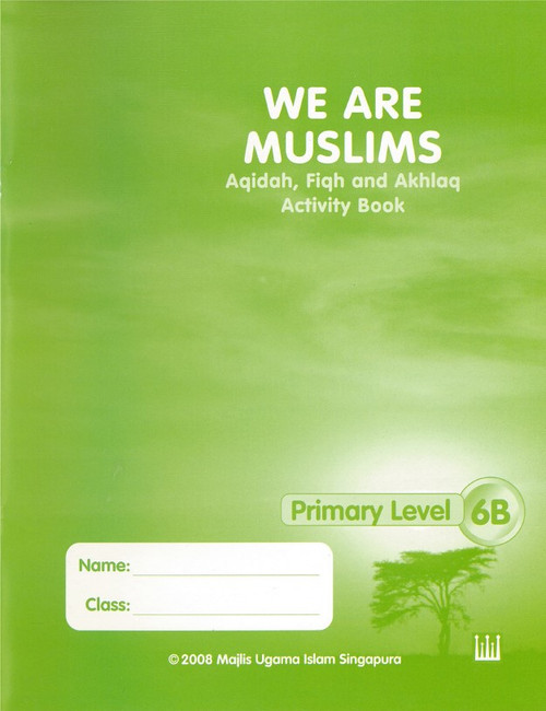 We Are Muslim Workbook  6B