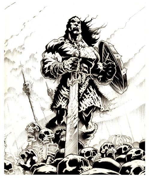 Barbarian Army T shirt