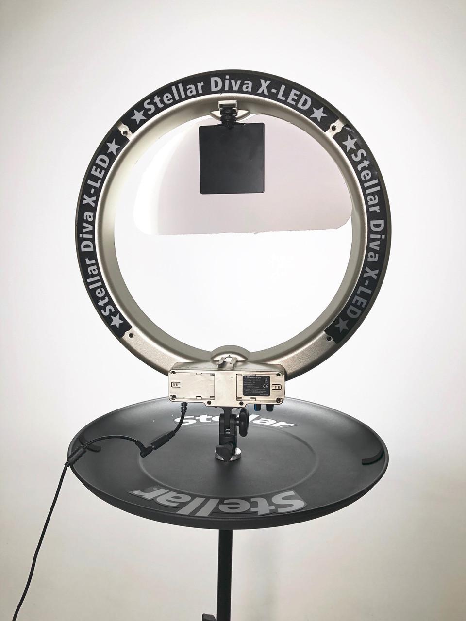 "Stellar Diva X-LED 18""  Ring Light New Complete Kit + Tray"