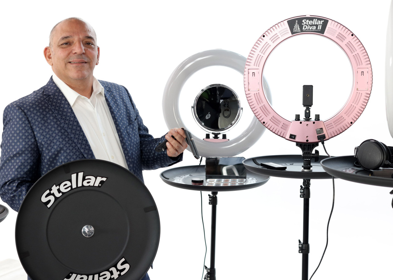 The New Stellar Diva ll Pro Ring Light + Photo  Stand and Tray