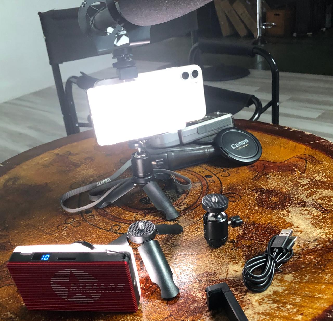 Stellar Pocket Zoom  LED Light Block  Fill Light Kit