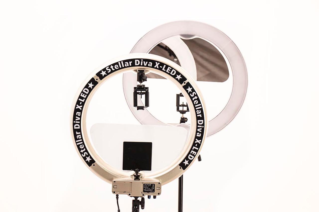 "Stellar Diva X-LED 18""  Ring Light Bundle"