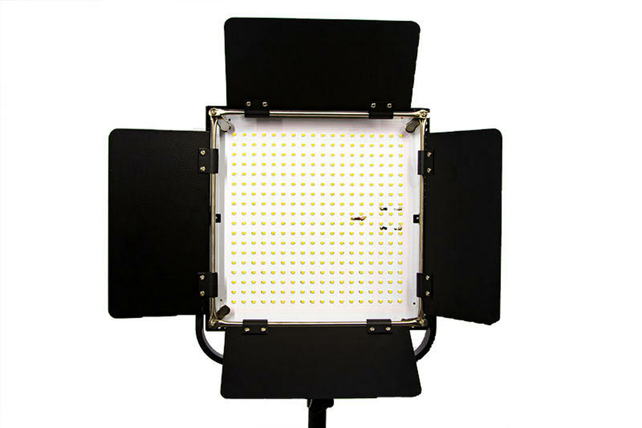 "Stellar New Diva  18"" CEL-R18C Ring Light w/ Tray + 2 LEd Sun Panel Lights bundle"