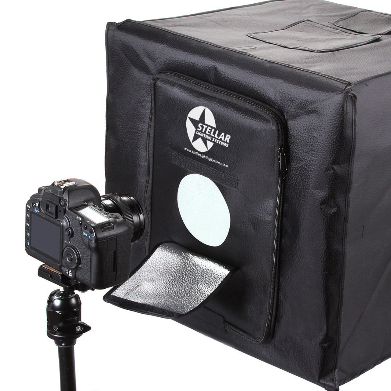 "Stellar Diva 18"" Ring Light + Stand+ Stellar Photo Cube"