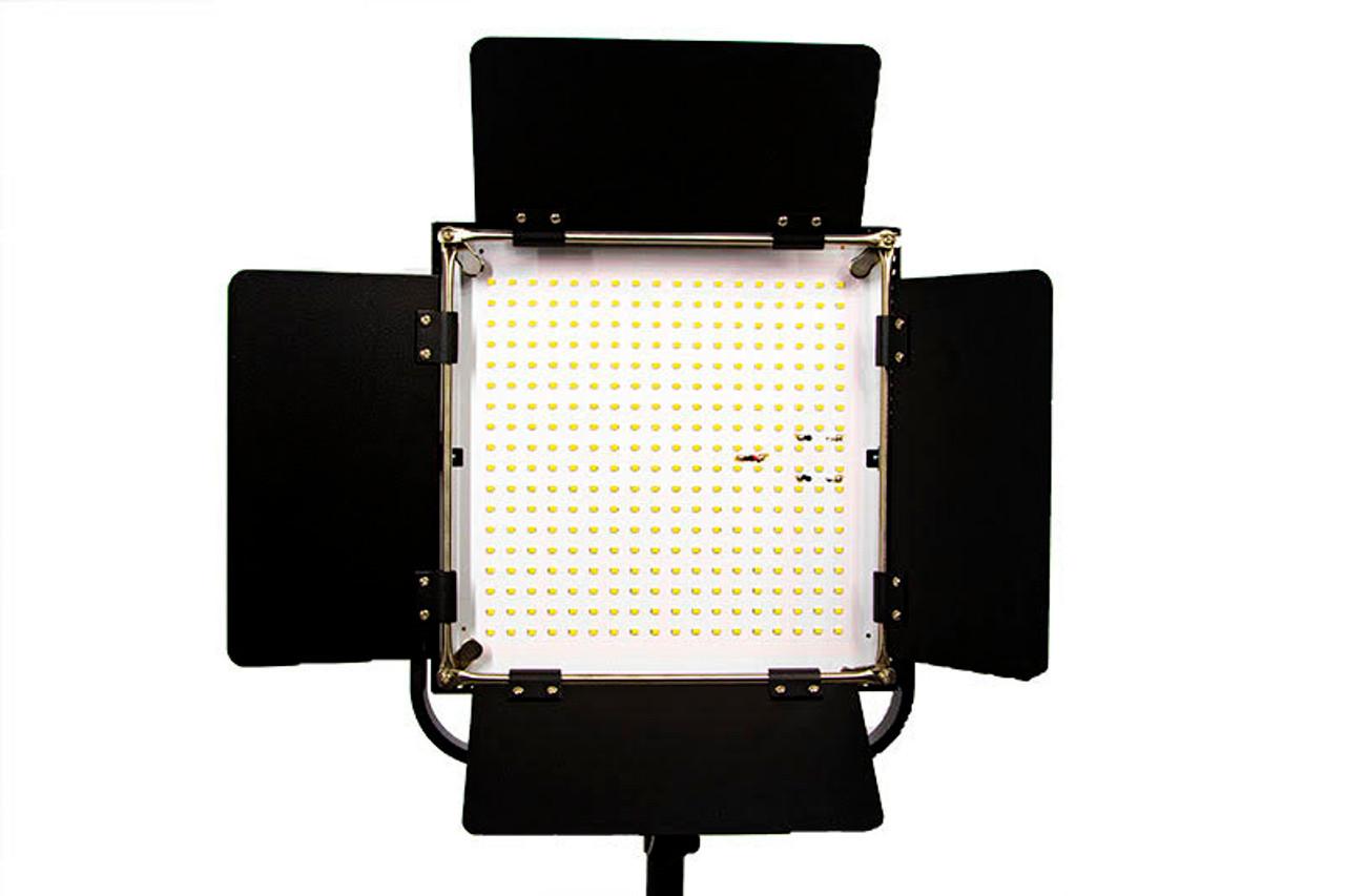 Stellar Sun Panel  Duo LED Light Kit + 2 Metal Stands