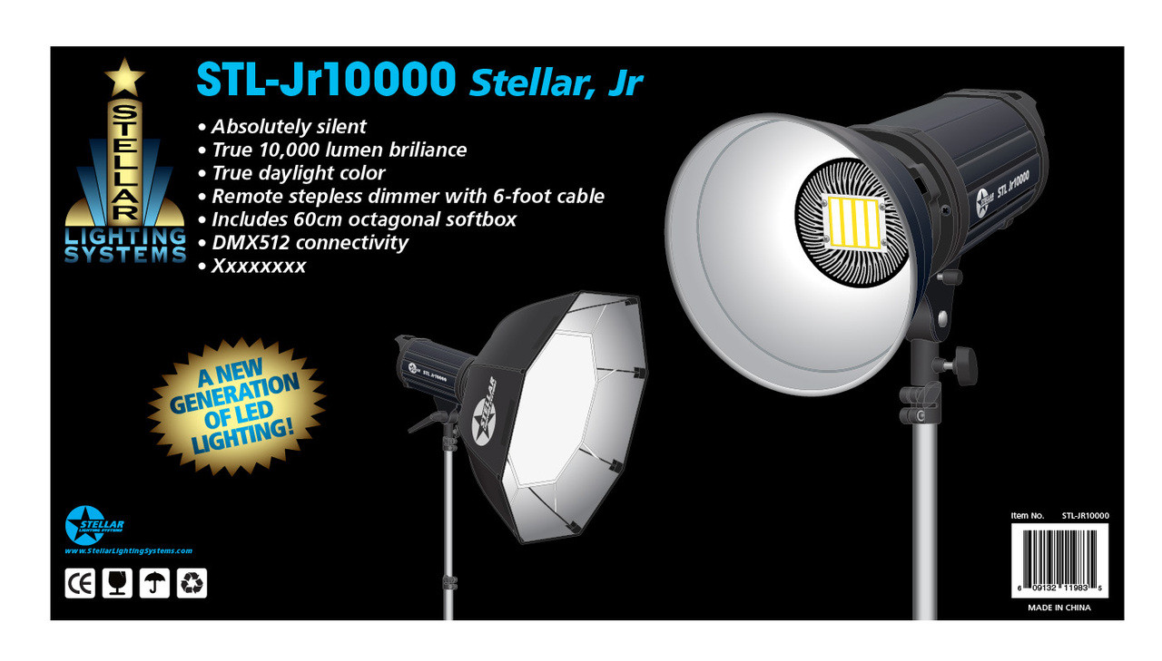 Stellar Sofbox Professional LED Light w/ Single Chip Technology STL-JR10000