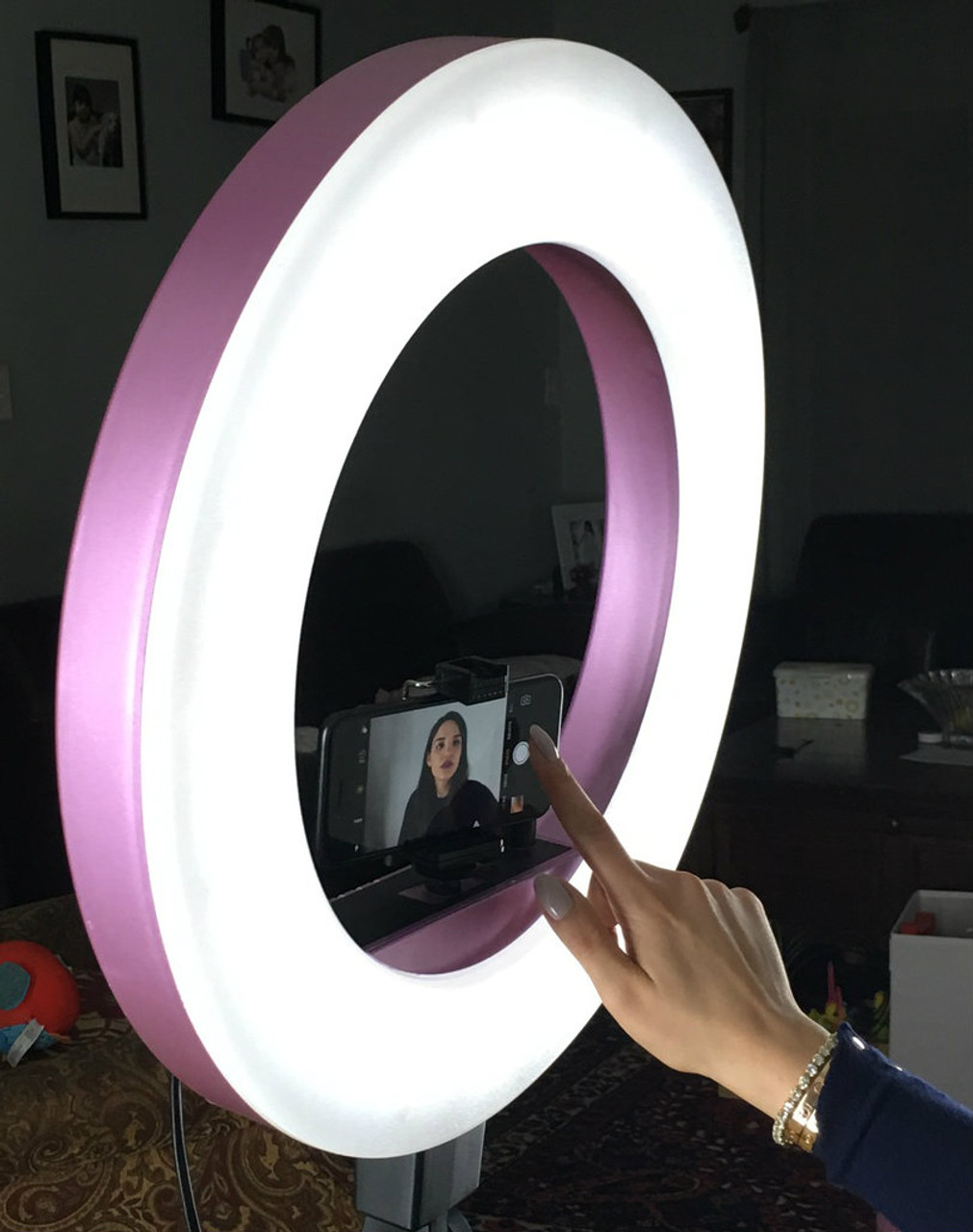 LED Diva Ring light by Stellar Lighting