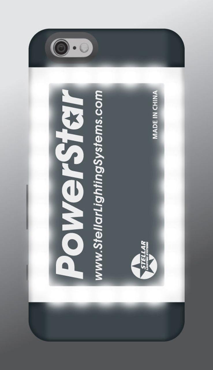 Stellar Lighting PowerStar battery Pack and pro Video lighting case for IPhone 6+ (PLUS)