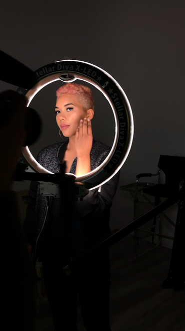 "Stellar Diva X-LED 18""  Ring Light Bundle"