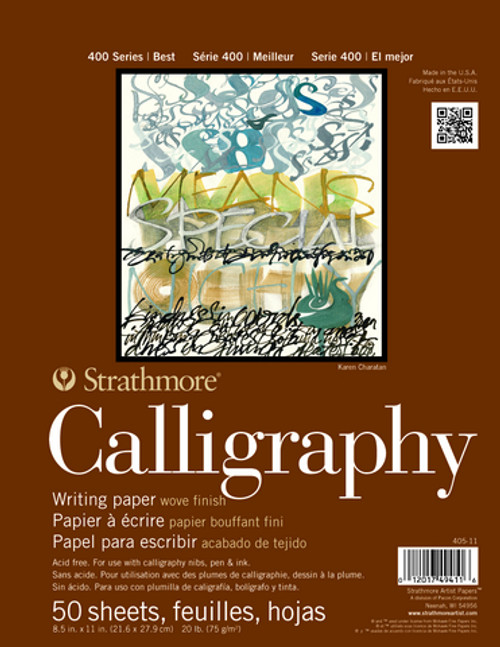 """Strathmore - Calligraphy - 400 Series - 8.5""""x11"""" - 50 Sheets - 20LB"""