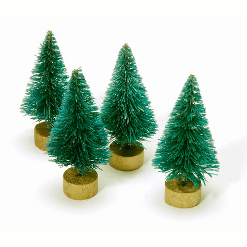 Sisal Tree - Green - 1.5 inches - 4 pieces