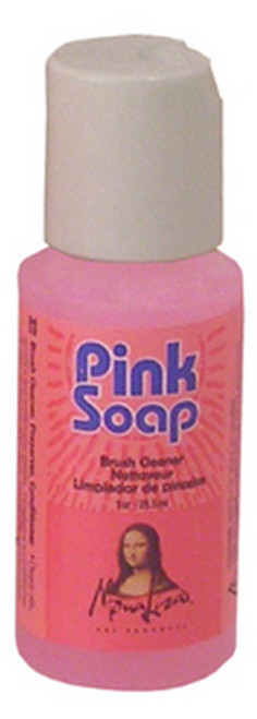 PINK SOAP HAND AND BRUSH CLEANER 1 OZ