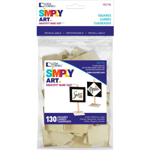 Woodsies Shapes 130/Pkg