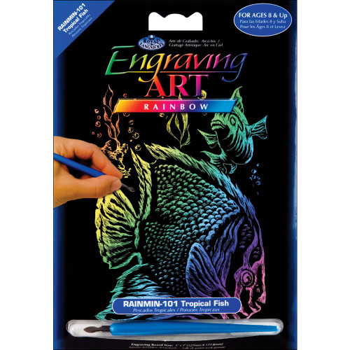 Tropical Fish – Engrave Art