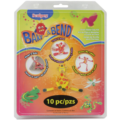Sculpey Bake & Bend Clay