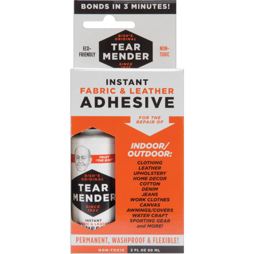 Tear Mender Instant Fabric & Leather Adhesive Packaged