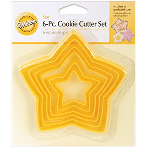 NESTING STAR COOKIES CUTTERS