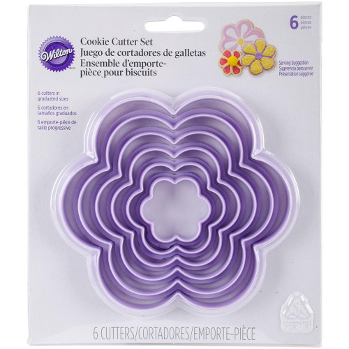 NESTING FLOWER COOKIE CUTTERS