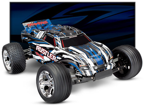 Traxxas Rustler RC Car (video at bottom of page)