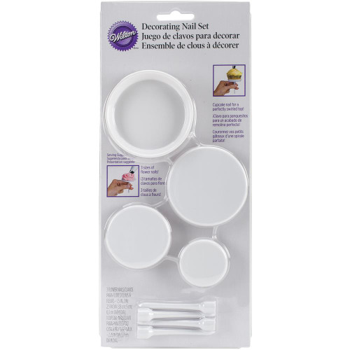 Decorating Nail Set 4/Pkg