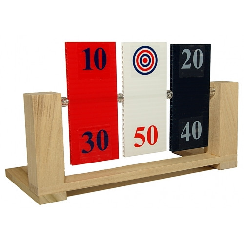 Red, White, and Blue Spinner Target