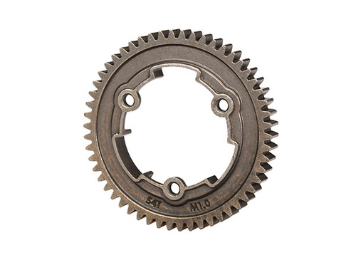 TRA6449X Spur gear, 54-tooth, steel (1.0 metric pitch)