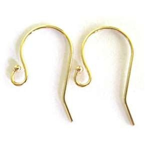 14k Gold Filled French Wire with Flip - 1 Pair