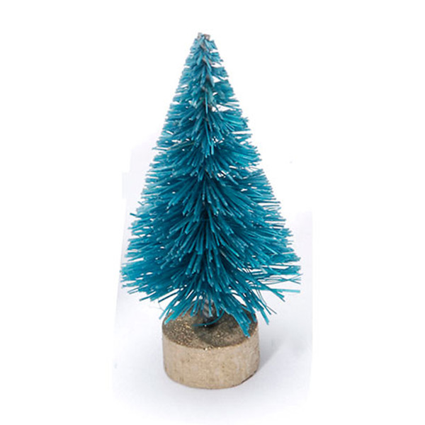 Sisal Tree - Green with Frost - 6 inches - 1 piece