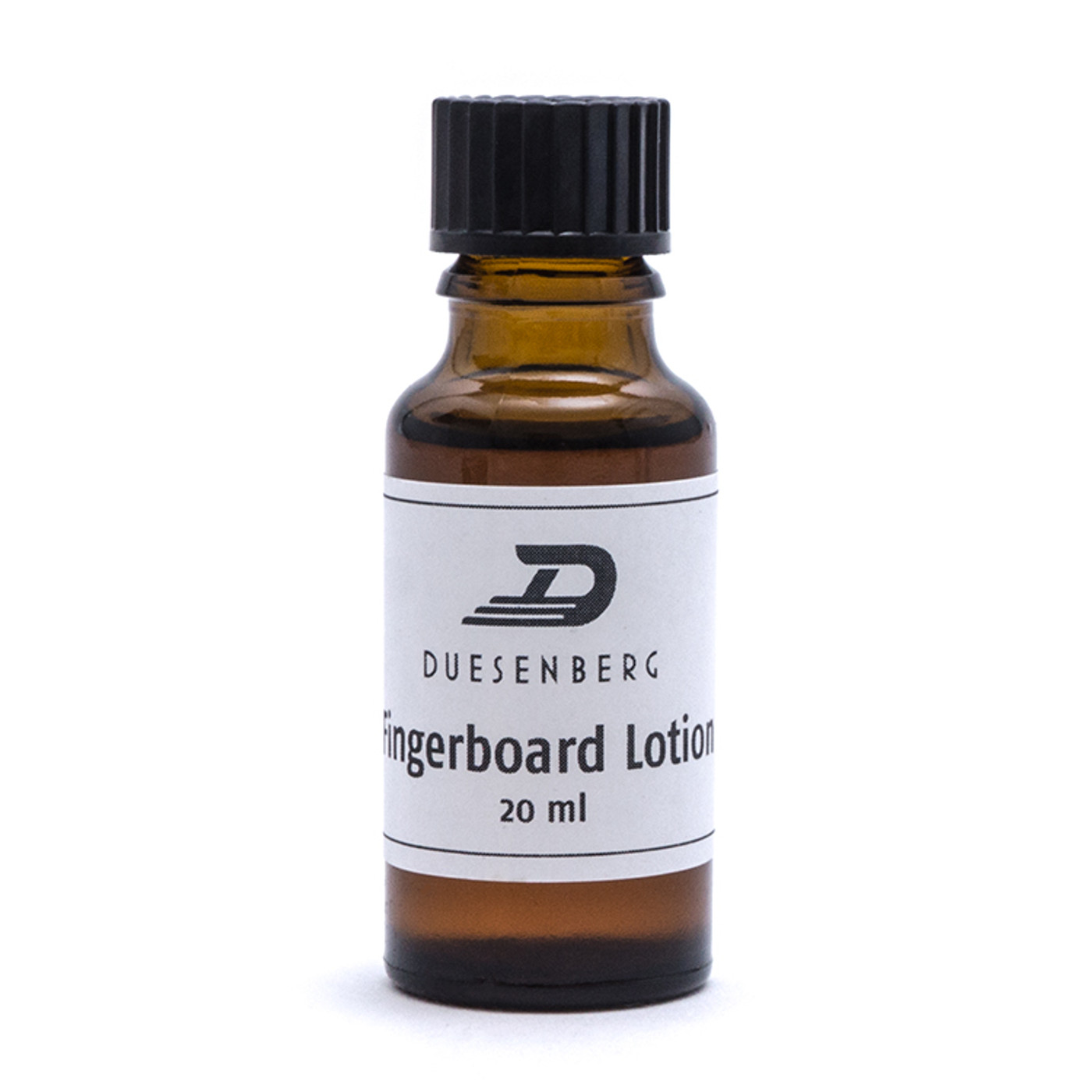 Best protection and care for your fretboard.  The Duesenberg Fretboard Lotion is a clever blend containing rosemary and lavender oils. Very thin, also soaks into close-grained fretboards. Contains: 20ml bottle