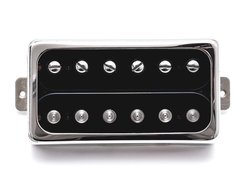 """A balanced premium Humbucker with an even frequency band and a classic voicing.  Developed and fine-tuned for years - Now a benchmark for a classic und raw humbucker tone. The """"Grand Vintage"""" is used in many of our guitars. It became famous and celebrated under the hands of many world class acts as a tone master in the bridge position of our Starplayer TV model. It has its roots in the classic PAF type pickups but ups the game with an open German Silver cover for unrestricted treble response. We also added special high-quality components for the baseplate and coil wire - we think you're going to love it! 4 conductor wire Pickup frame not included"""