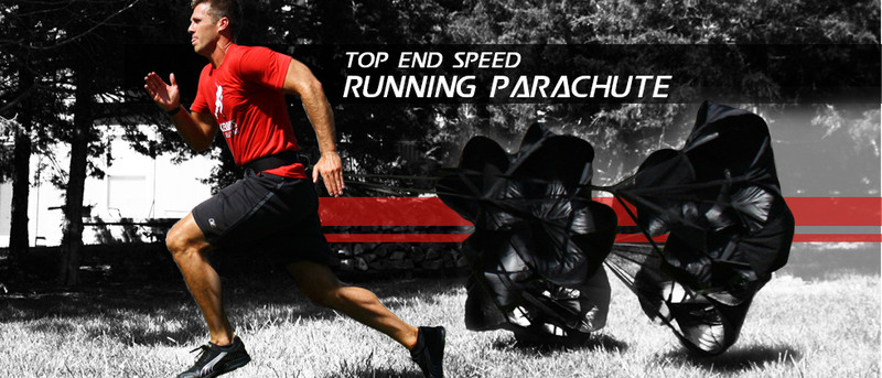 Parachute Running Football Soccer Sport Speed Drill Training Exercise Fitness