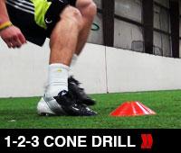 1-2-3 Cone Drill
