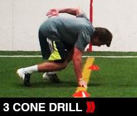 3 Cone Drill