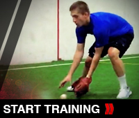 Baseball Mobility 40'S Fielding Drill