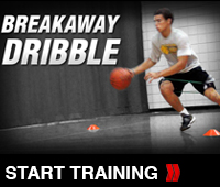 Increasing Speed with the Breakaway Dribble Drill