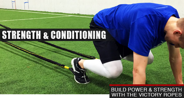 Strength And Conditioning With The Victory Ropes