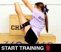 Cheer Flexibility Heel Stretch
