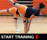 Hold And Explode Cheer Training