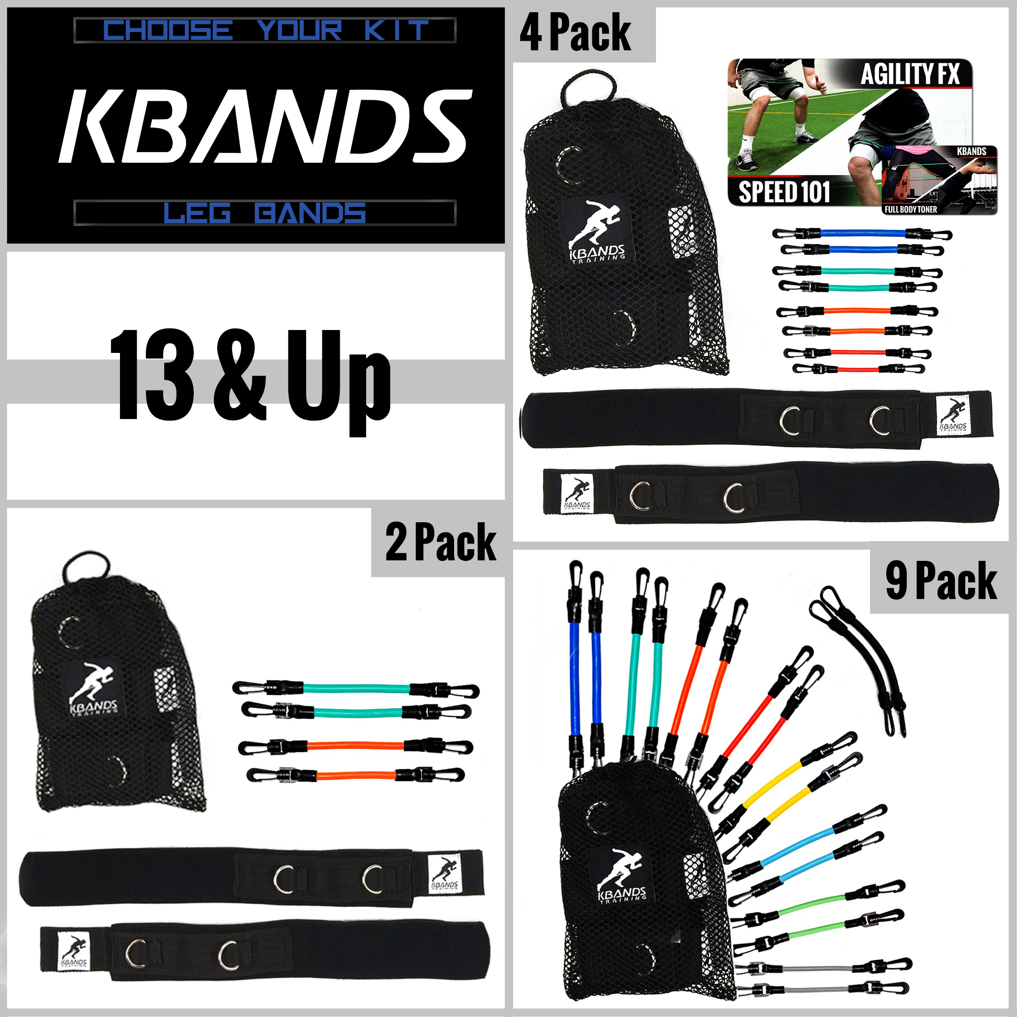 Kbands 13 and Up