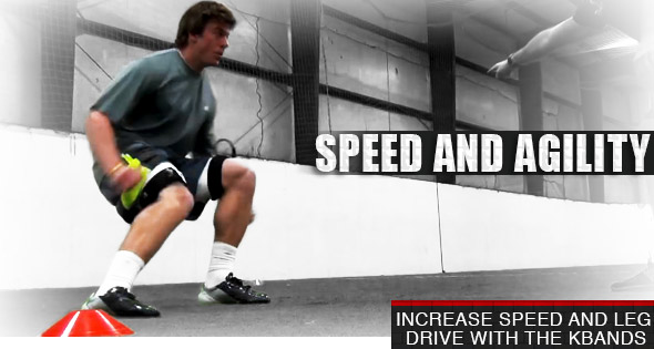 Kbands Plyometric 4 Cone Drill