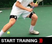 Kbands Tennis Shuffle Drill