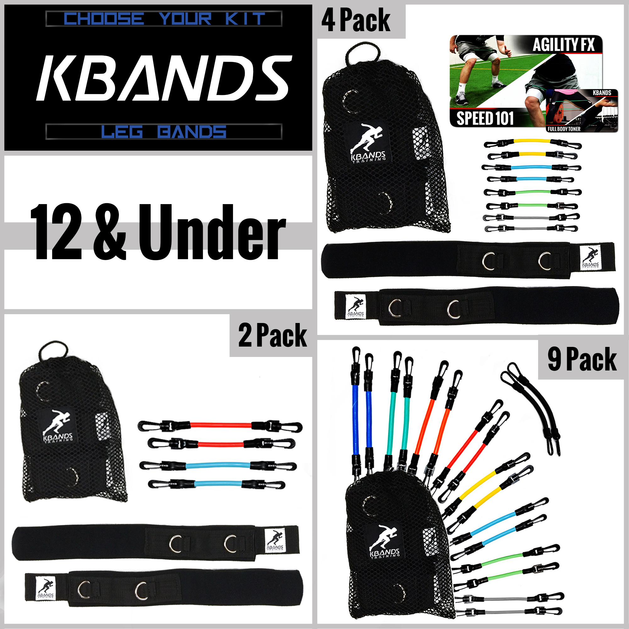 Kbands Youth Kit Options