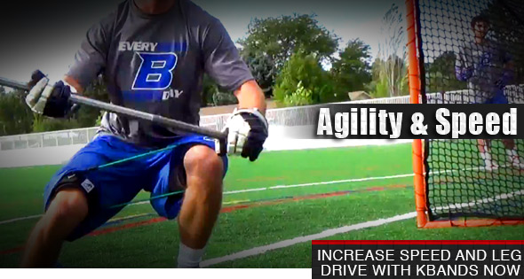 Lacrosse Cage Defense Drill With Kbands