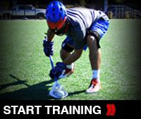 Lacrosse Loose Ball training